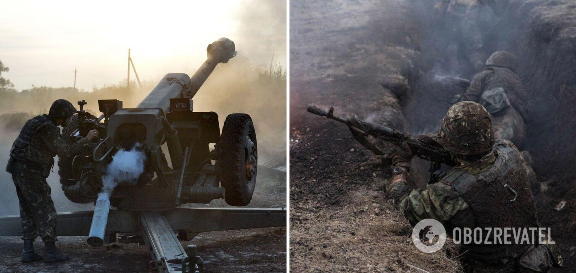 Наемники РФ на Донбассе обстреляли позиции ВСУ из противотанковых гранатометов и пулеметов