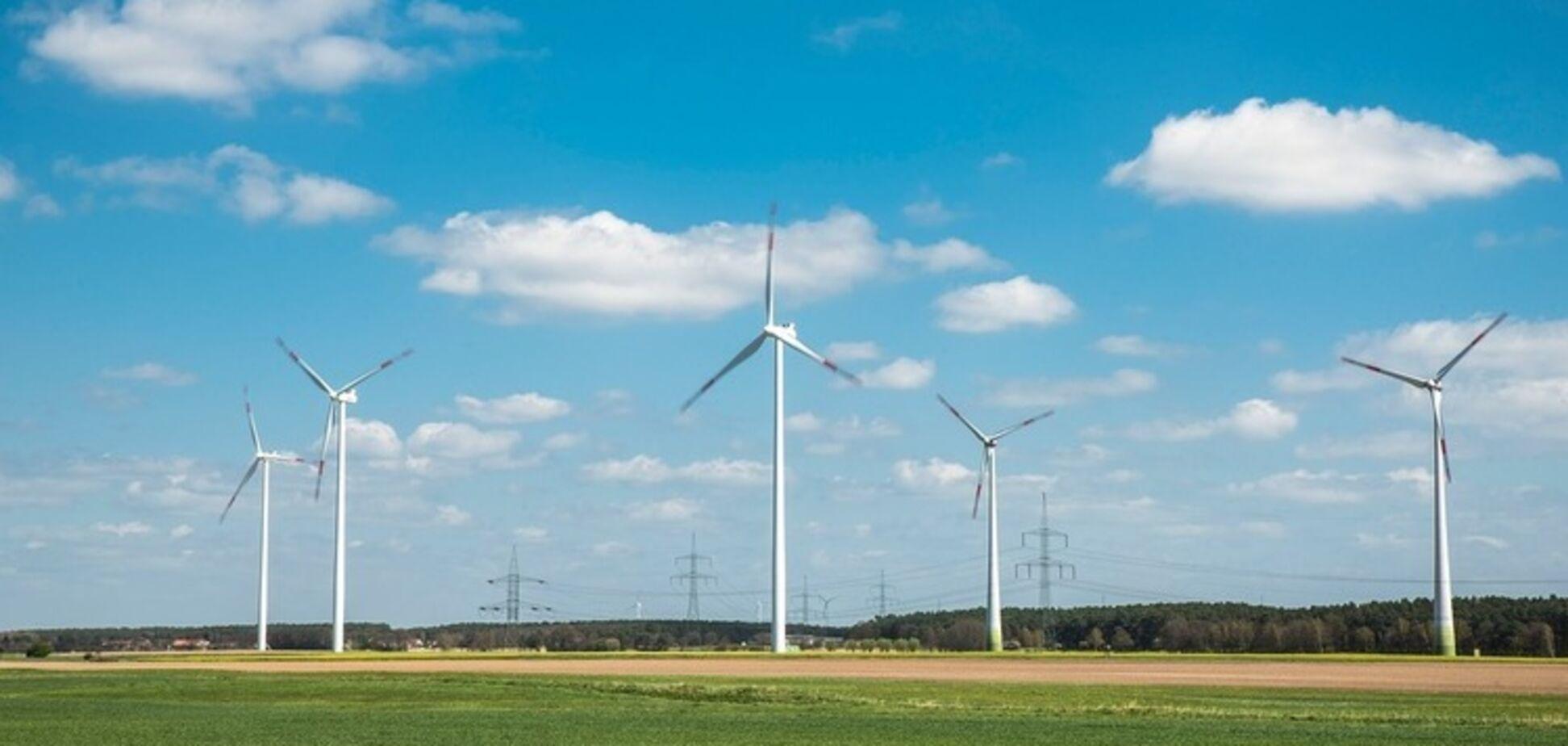Украина оказалась предпоследней в Европе по развитию 'зеленой' энергетики – СМИ