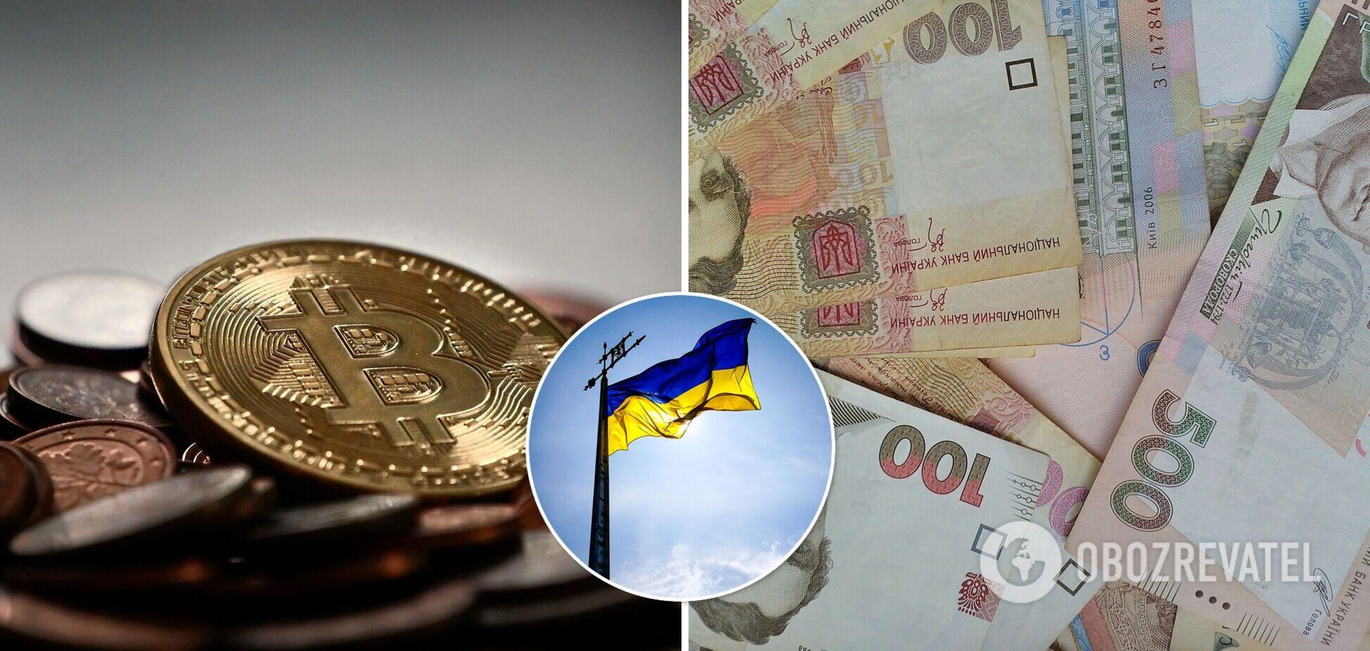Украина вошла в топ рейтинга использования криптовалют
