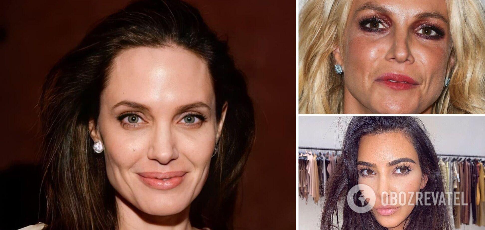 Звездные дефекты: хирург раскрыл секреты 'молодости' Джоли, Спирс, Кардашьян и других