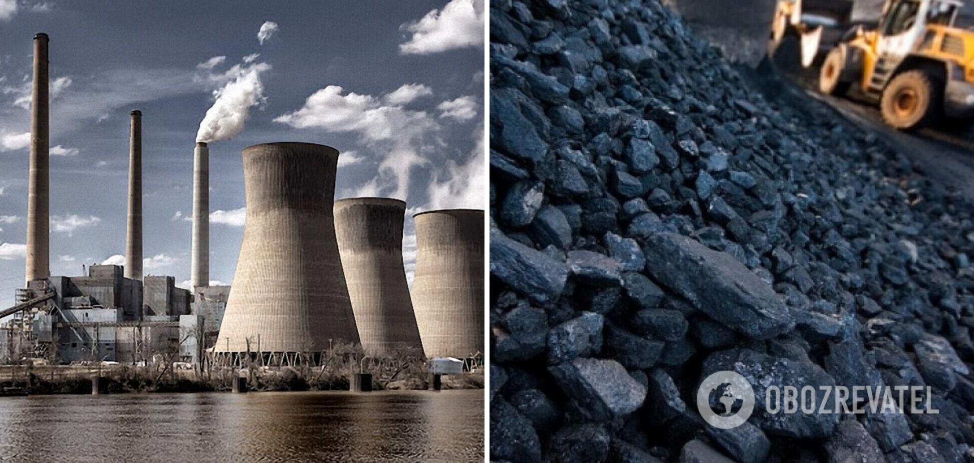 Запаси вугілля на складах теплових електростанцій 9 липня збільшилися