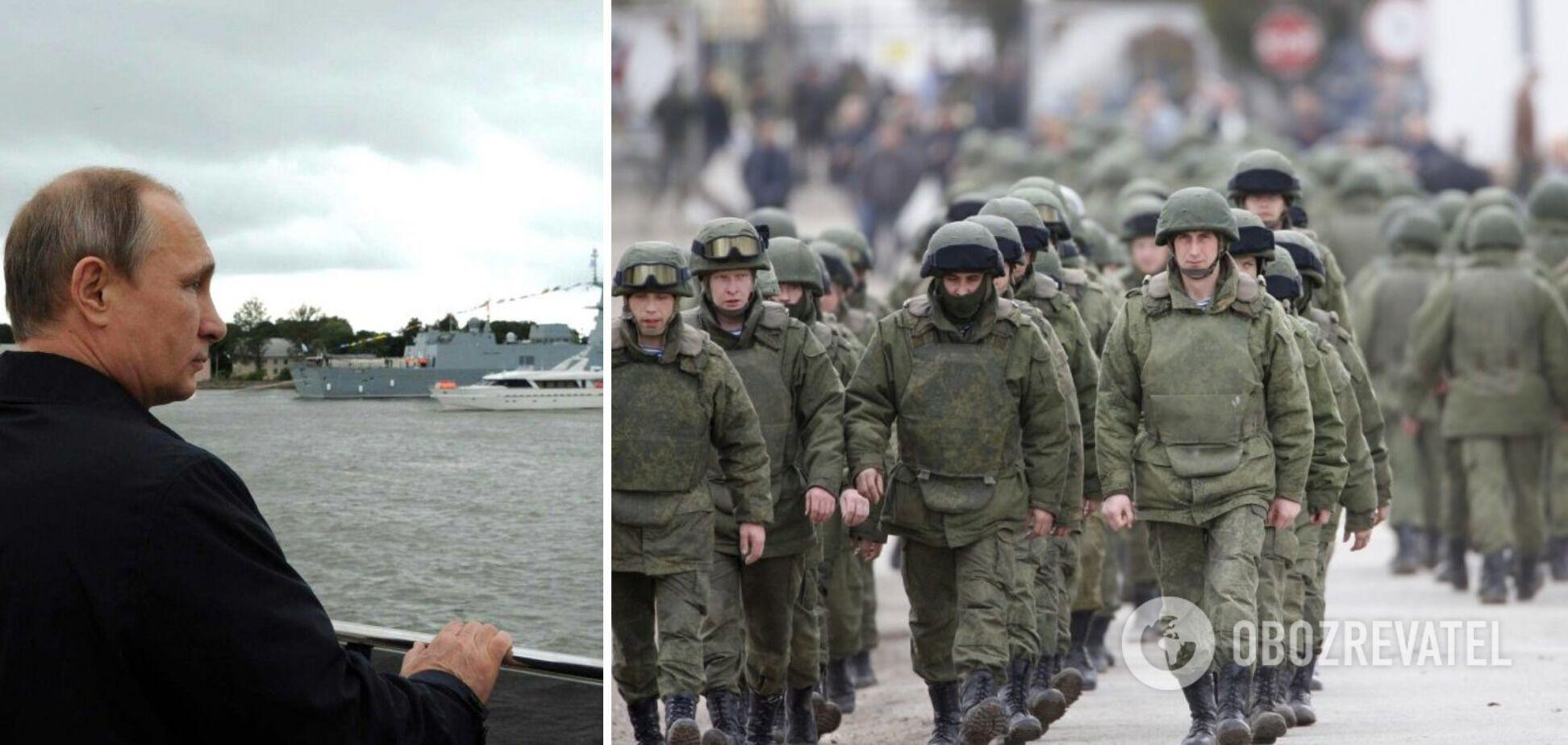 Россия наращивает военную группировку в оккупированном Крыму