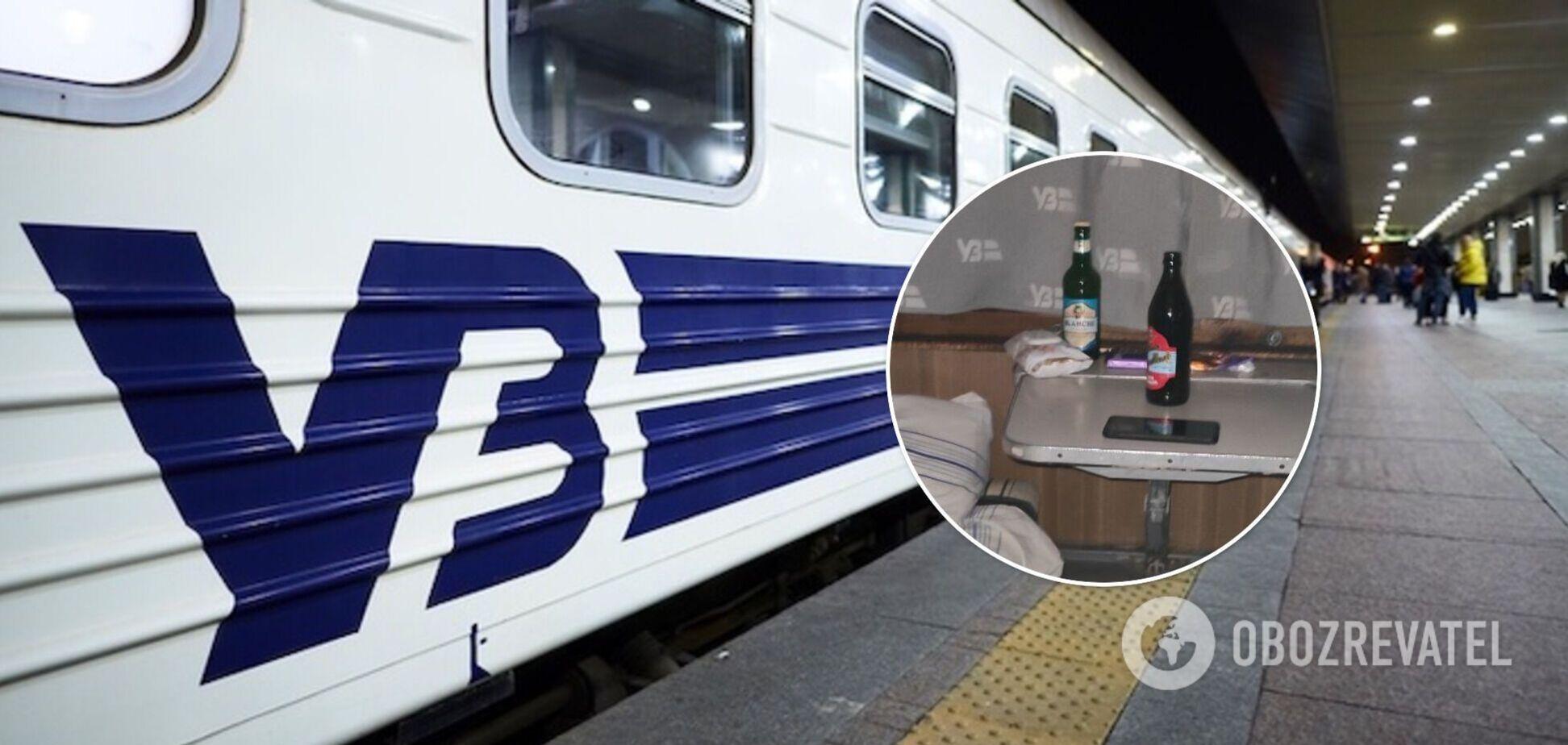 У поїзді 'Укрзалізниці' стався конфлікт через п'яного пасажира