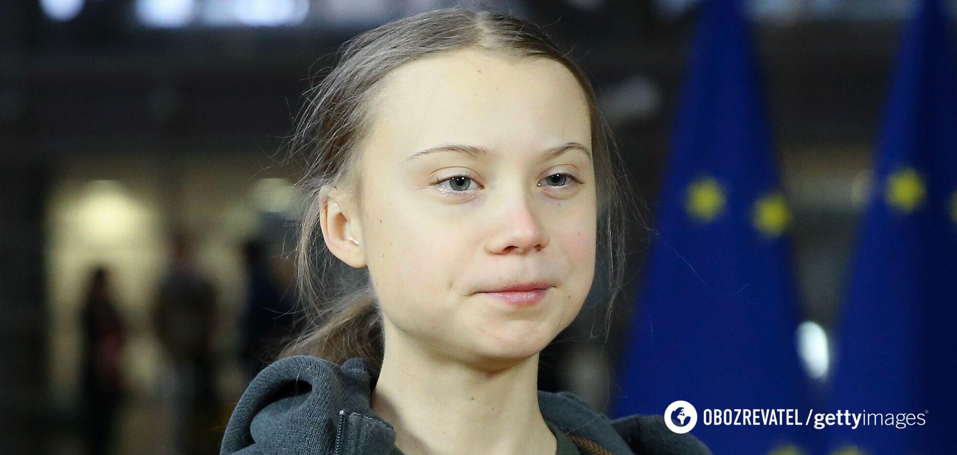 18-летняя шведская экоактивистка Грета Тунберг