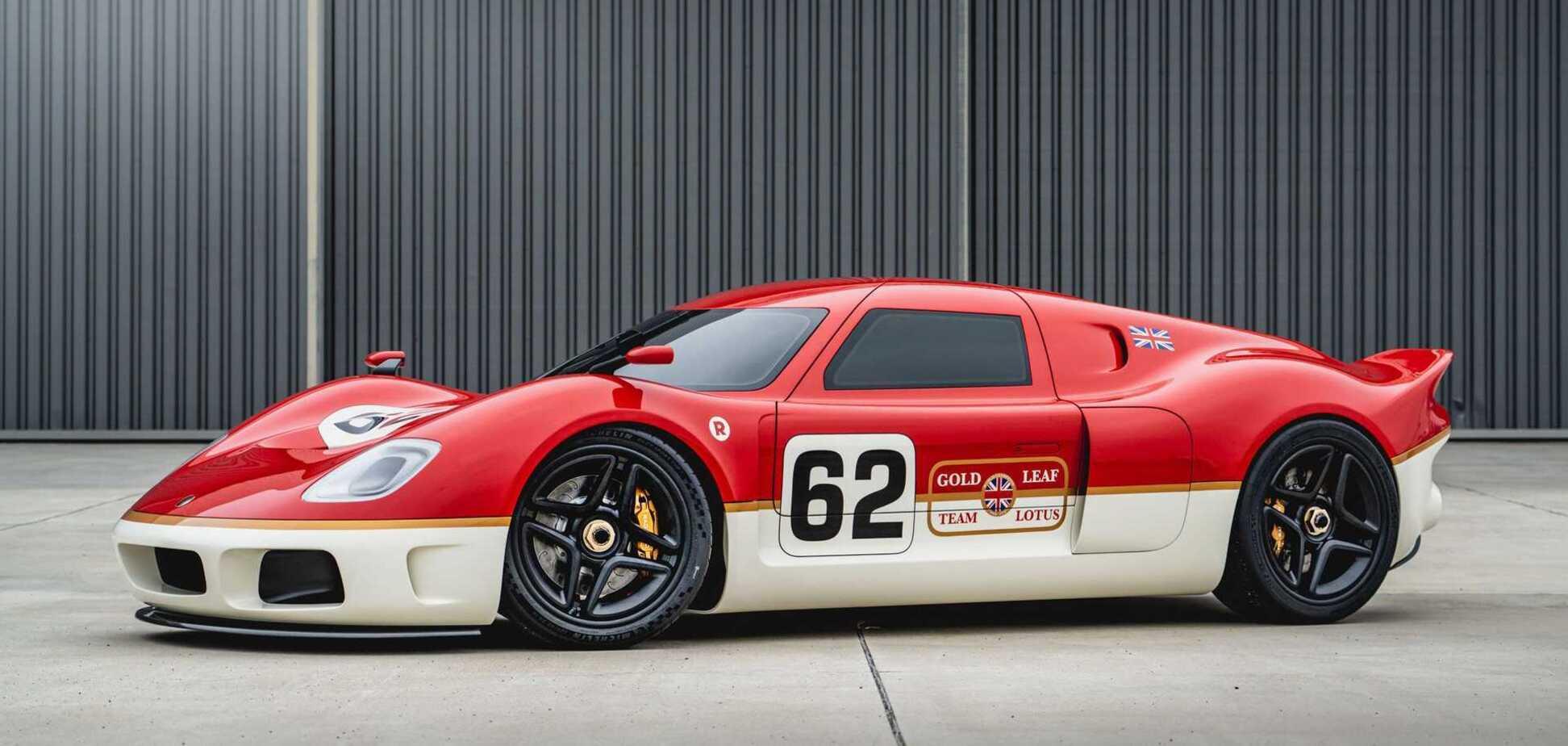 У Radford поділилися новими подробицями про рестомод Lotus 62-2