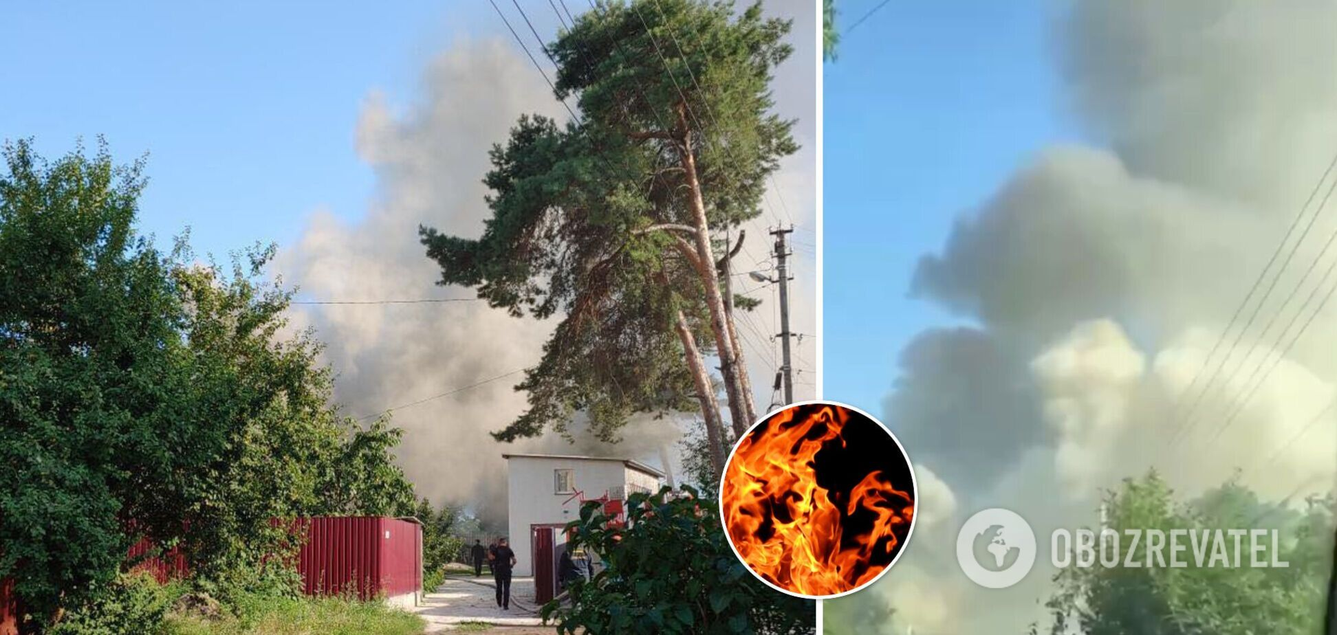 У Бучі сталася пожежа