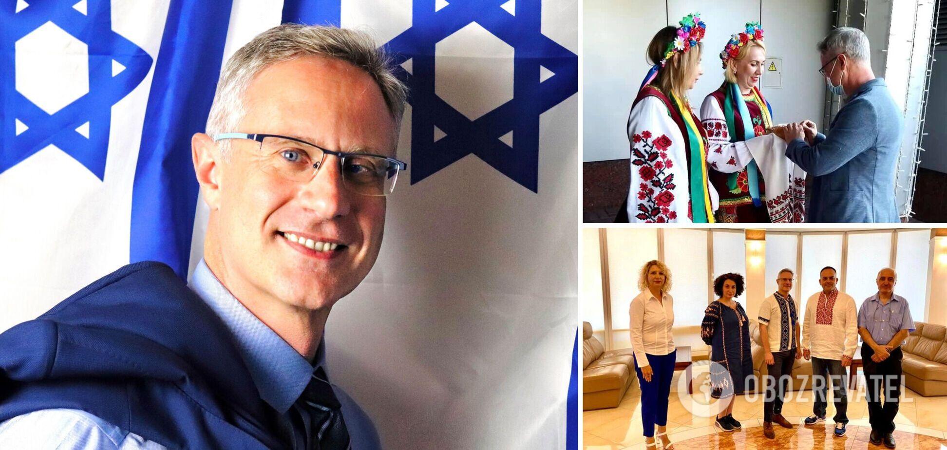 Міхаель Бродський - посол Ізраїлю в Україні