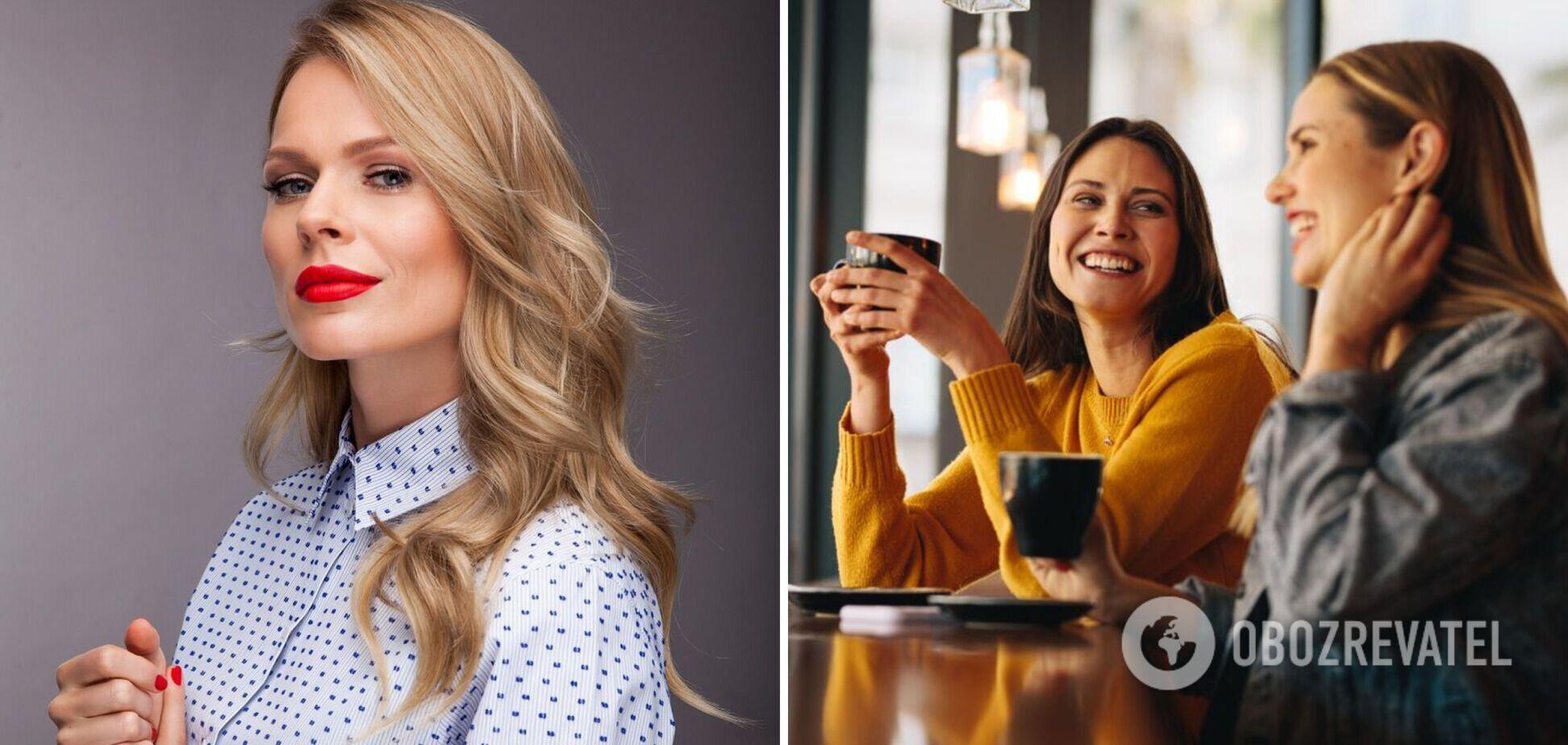 Ольга Фреймут назвала главные правила поведения леди за столом