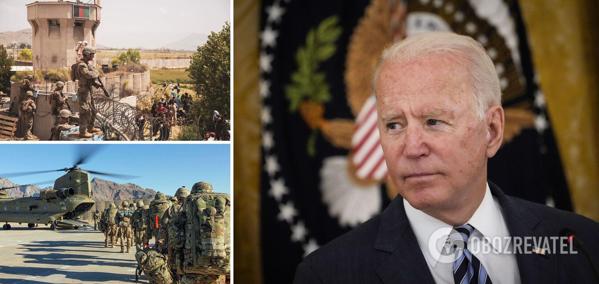 Байден назвав правильним виведення військ США з Афганістану: вибір був між відходом і ескалацією
