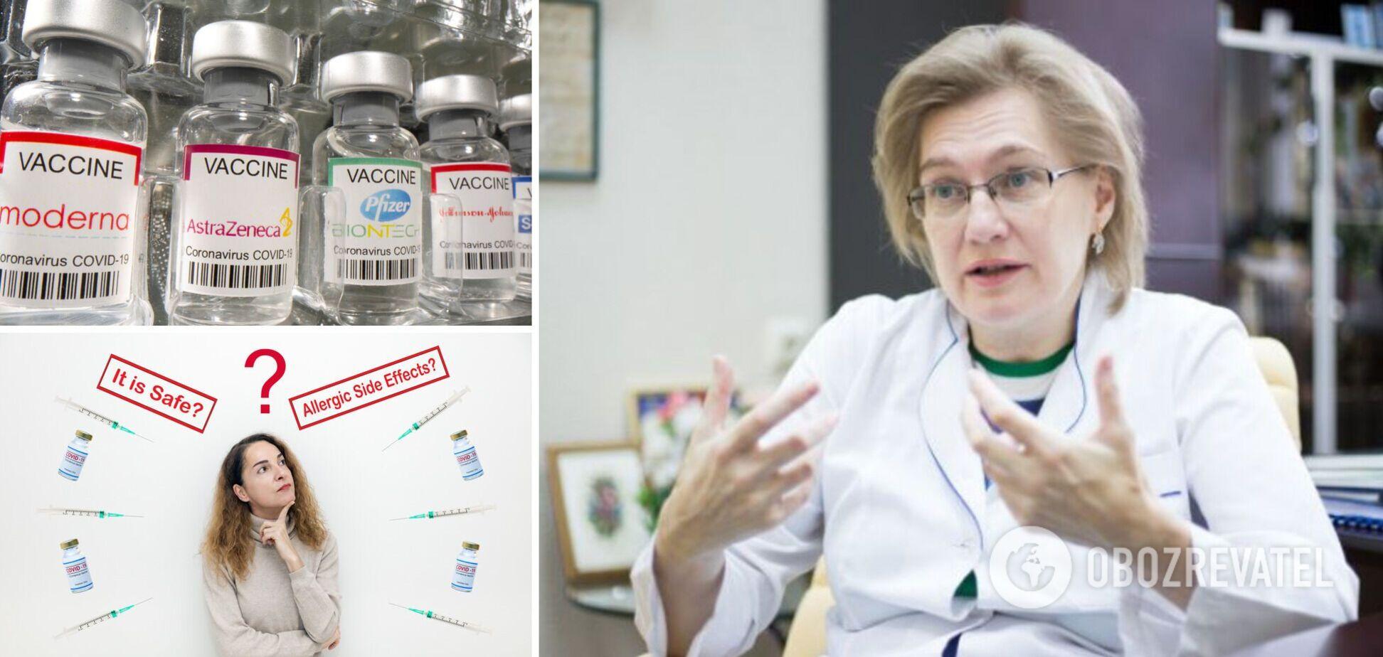 Голубовская объяснила, в чем главное отличие вакцин Pfizer, Moderna, AstraZeneca и CoronaVac