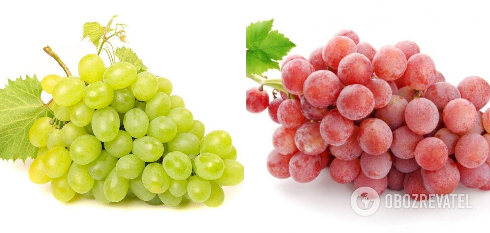 Виноград: какой полезнее – красный или белый