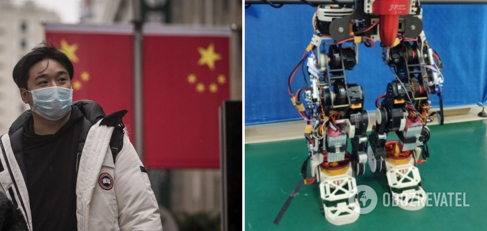 У Китаї створили робота, який може злітати: його будуть використовувати для порятунку людей. Відео