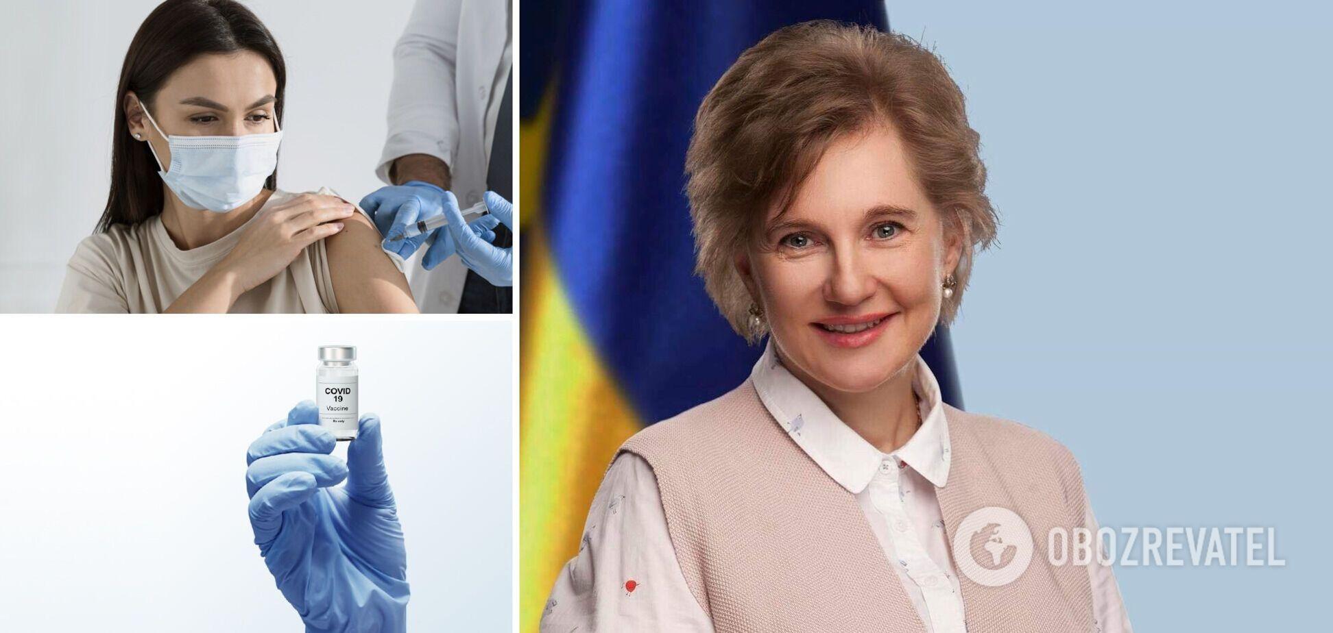 Голубовская рассказала, кому нужна бустерная доза вакцины против COVID-19. Видео