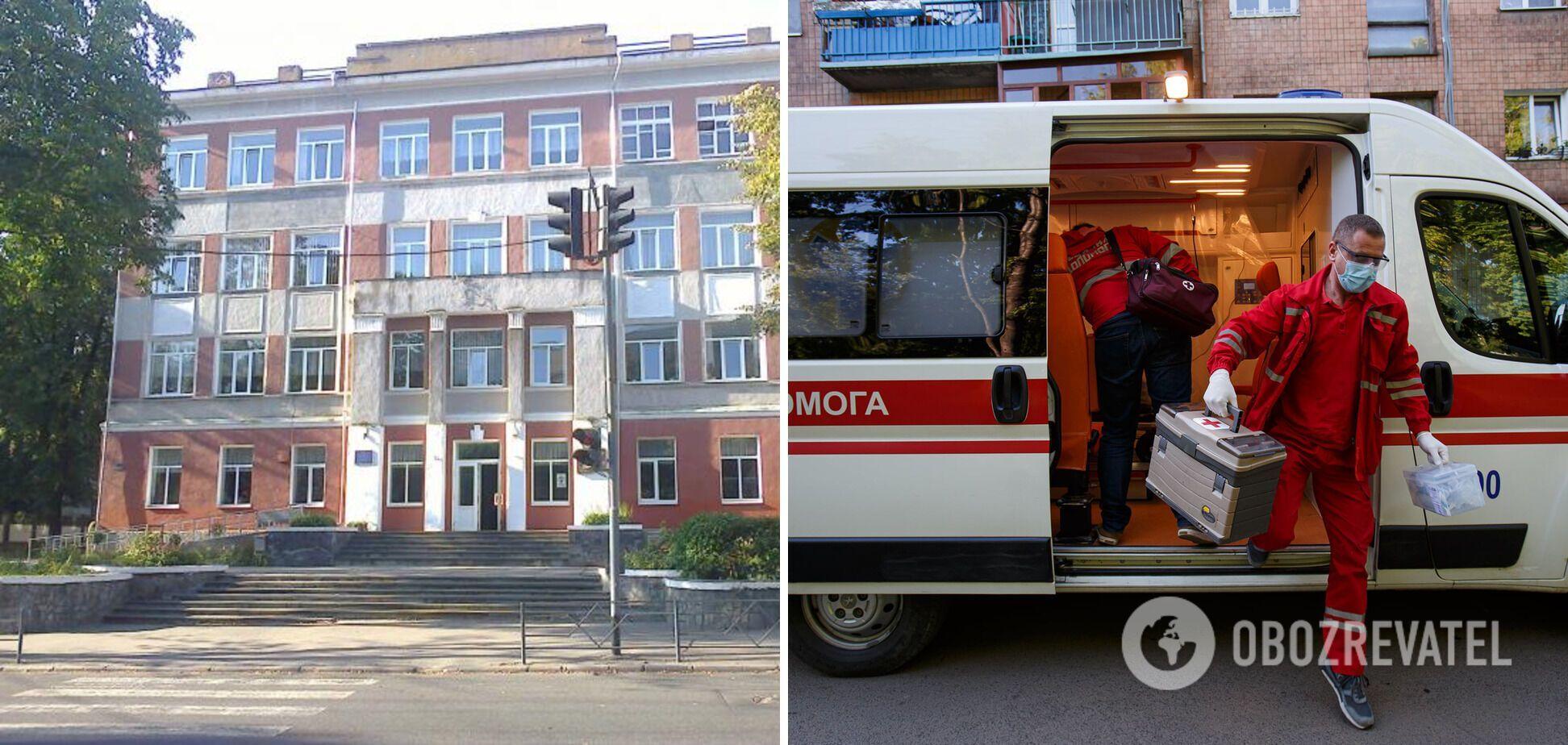 У Вінниці під час святкової лінійки в школі помер чоловік