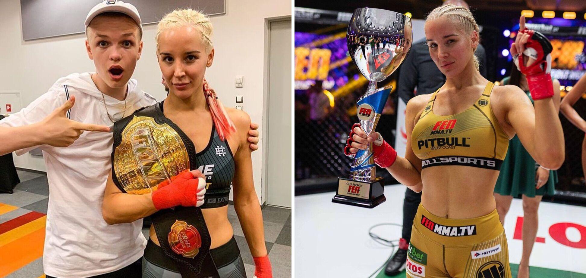Боксерка, яка влаштувала бійку через фалоімітатор, виявилася любителькою сексуальних фотосесій