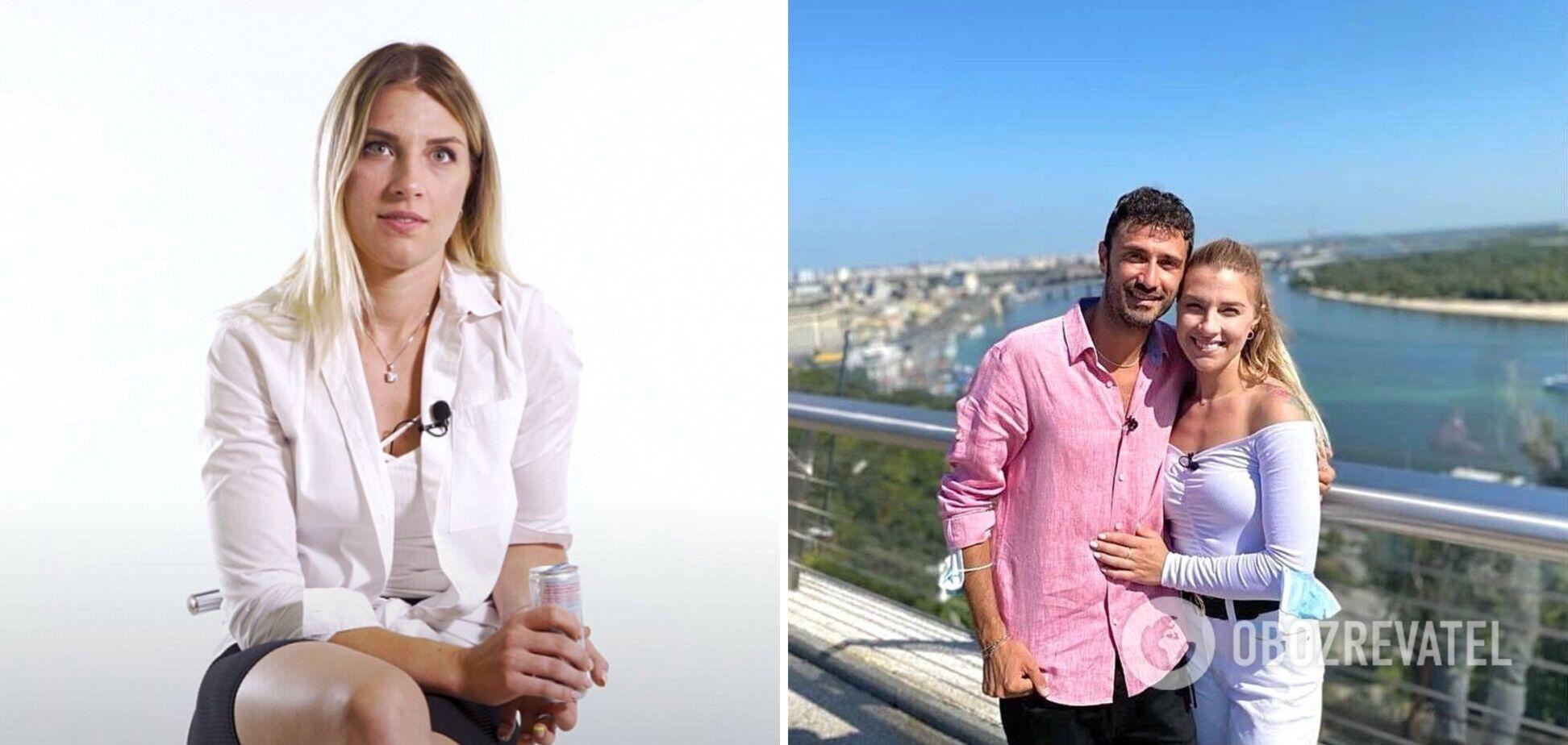 Ольга Харлан встречается с итальянцем Луиджи Самеле