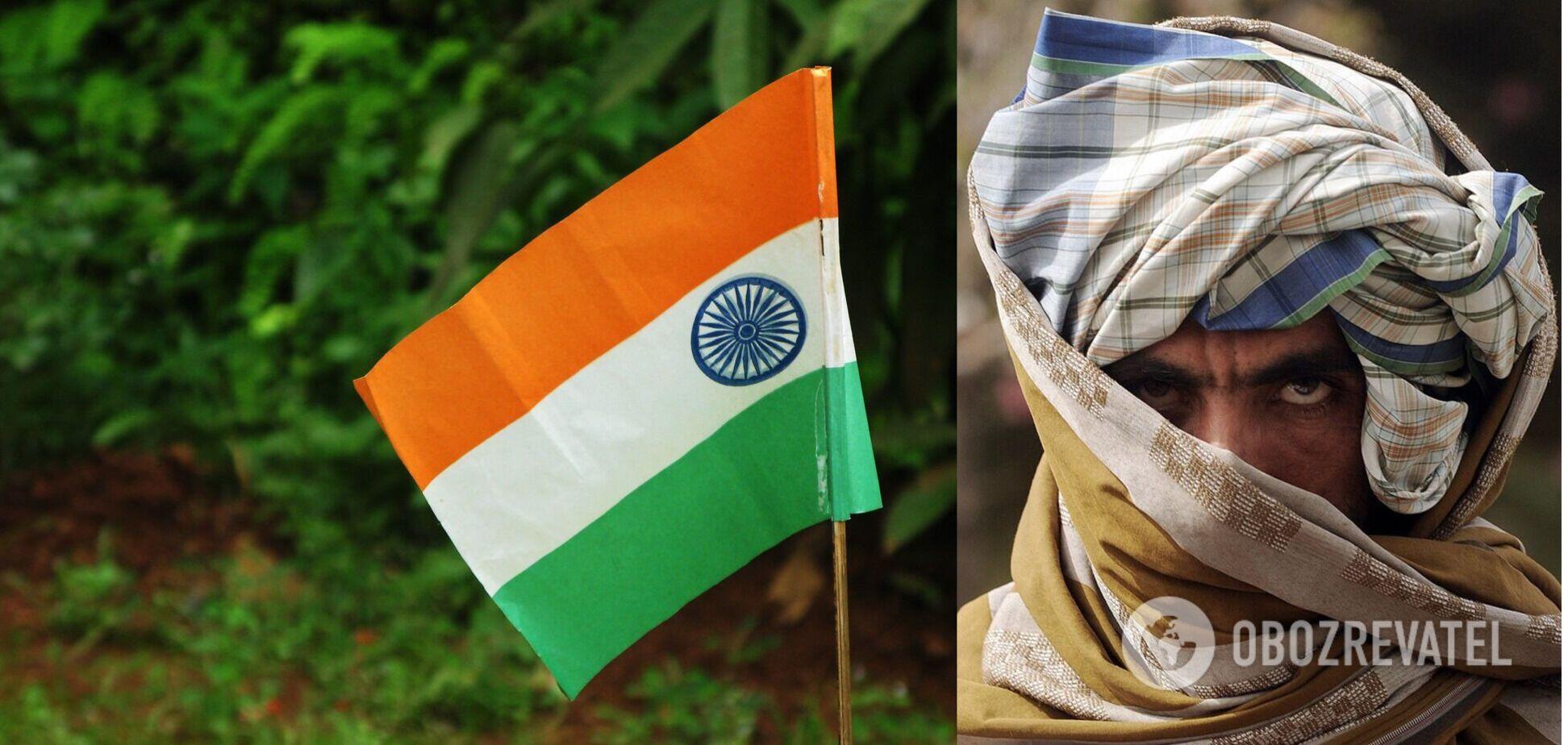 Индия провела переговоры с 'Талибаном'