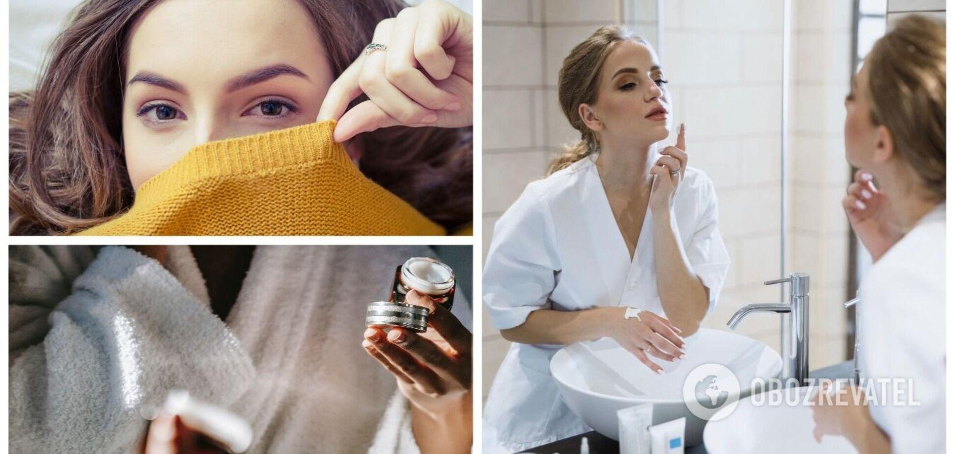 Обветренные губы, акне, сухость кожи: как справиться с этими проблемами осенью. Интервью с косметологом