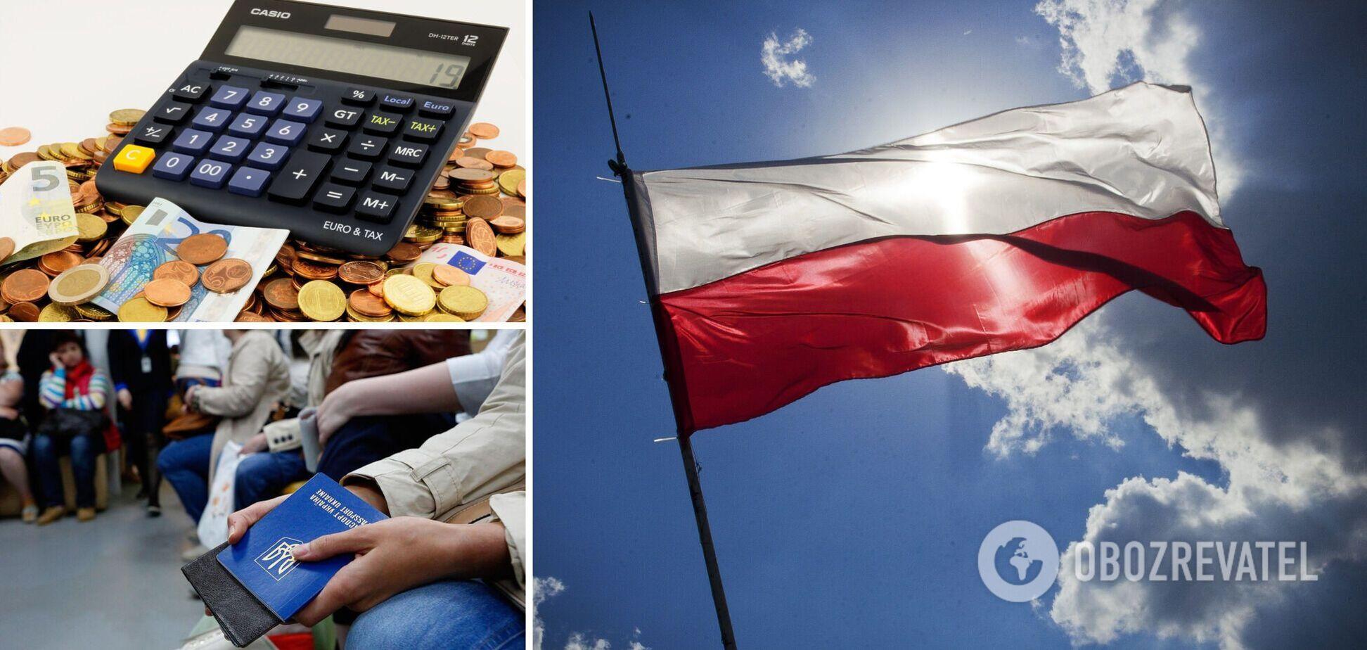 Українські заробітчани будуть платити удвічі менше податків в Польщі