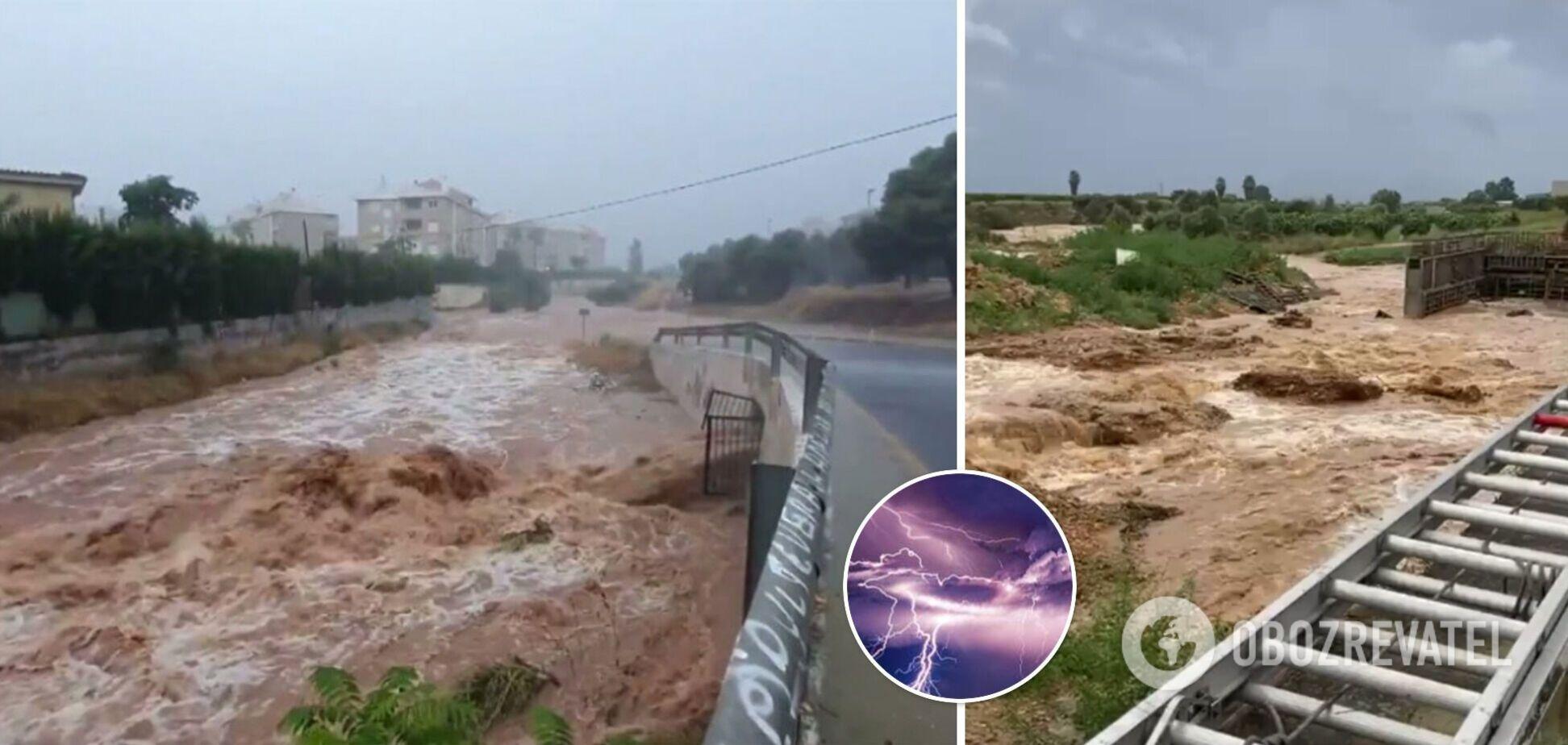 Негода в Іспанії
