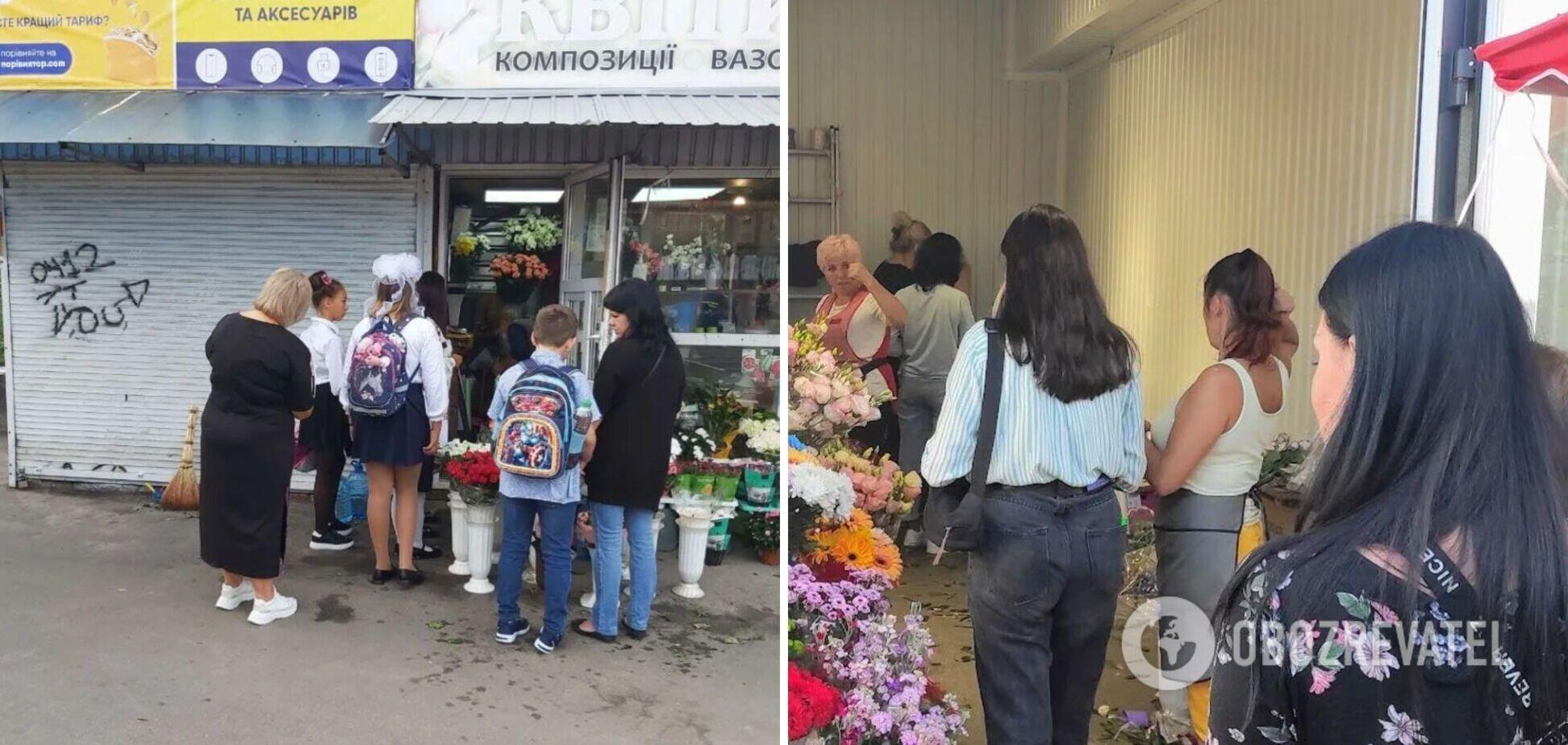 Продавці квітів підняли ціни 1 вересня: українці розділилися в думках, чи потрібні букети вчителям