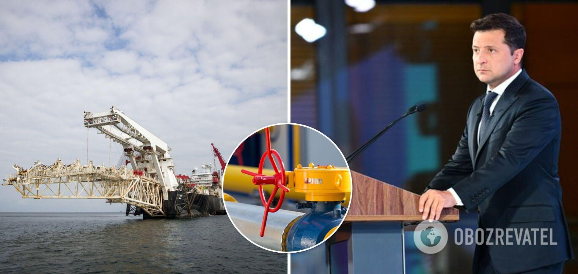 Зеленский заявил, что российский газ является самым грязным в мире