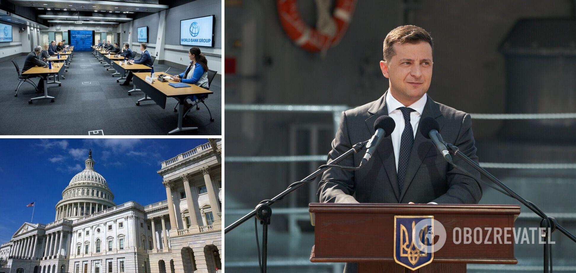 Зеленский встретился с президентом Всемирного банка