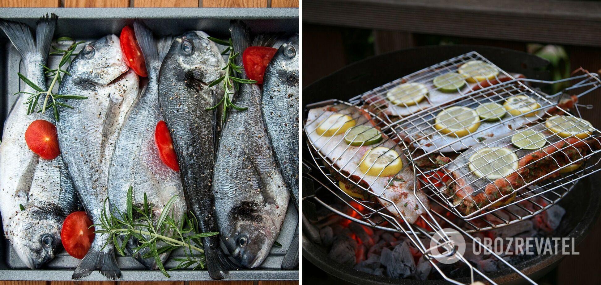 Як правильно замаринувати рибу