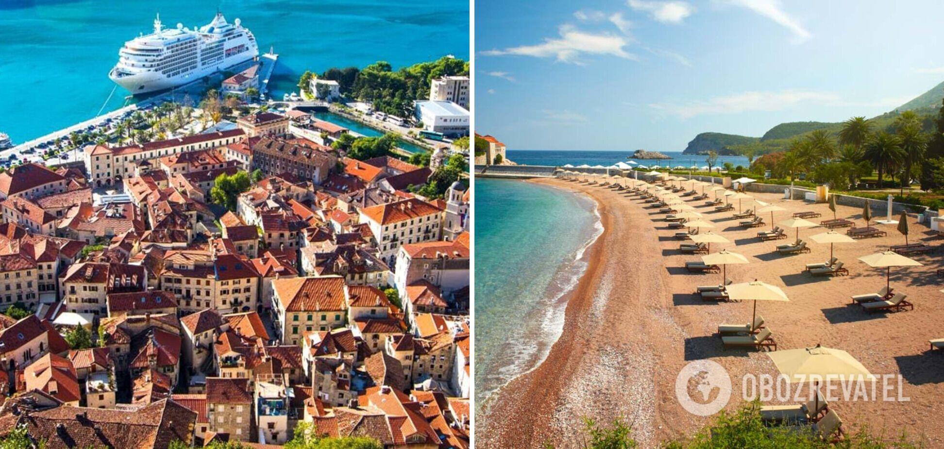Чорногорія ввела нові правила в'їзду для туристів: що змінилося