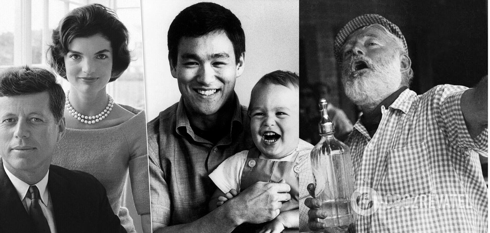 Кеннеді, Гуччі та Гемінґвей: 5 відомих сімей із 'родовими прокляттями'