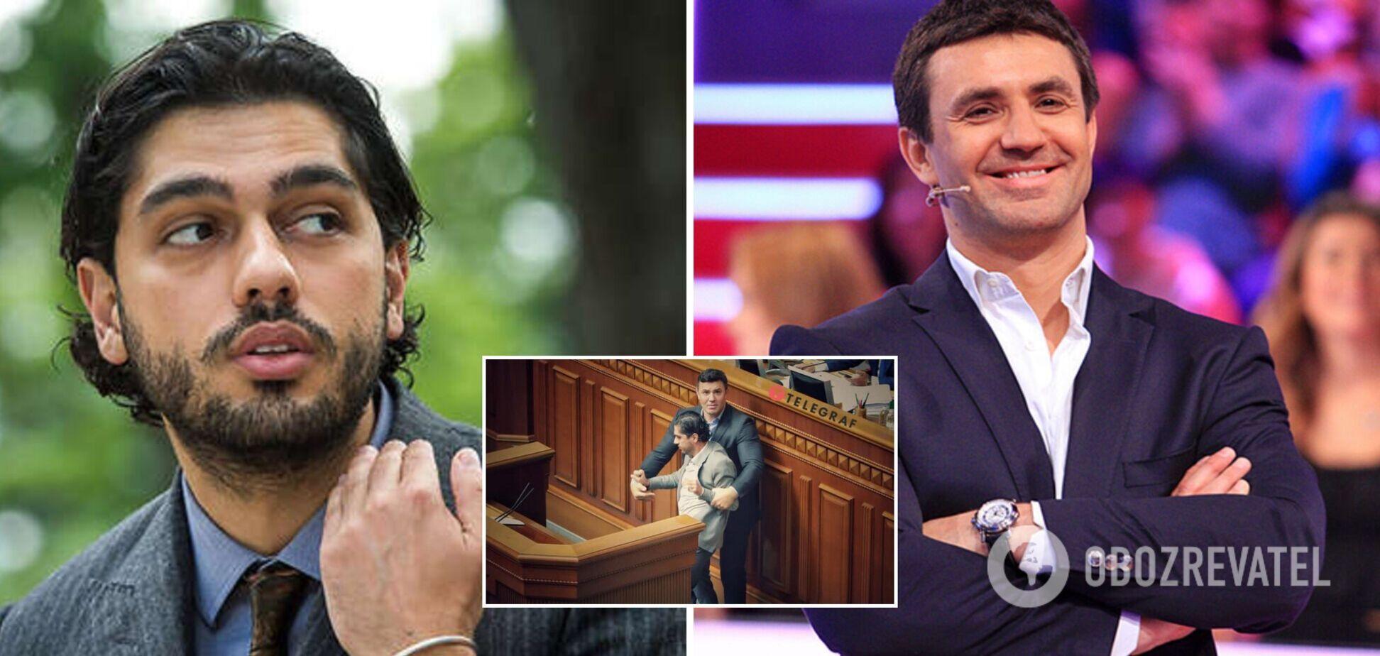 Тищенко помолился за Лероса после потасовки в Раде и показал фото
