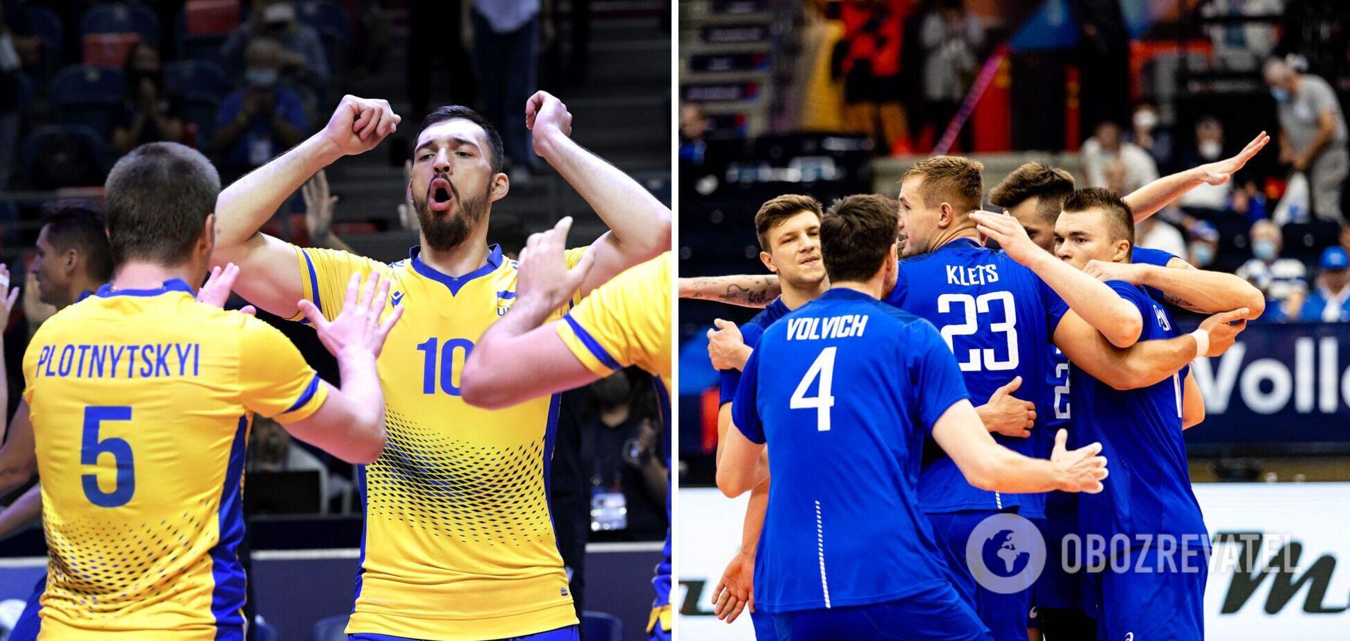 Где смотреть Украина – Россия: расписание трансляций плей-офф ЧЕ по волейболу