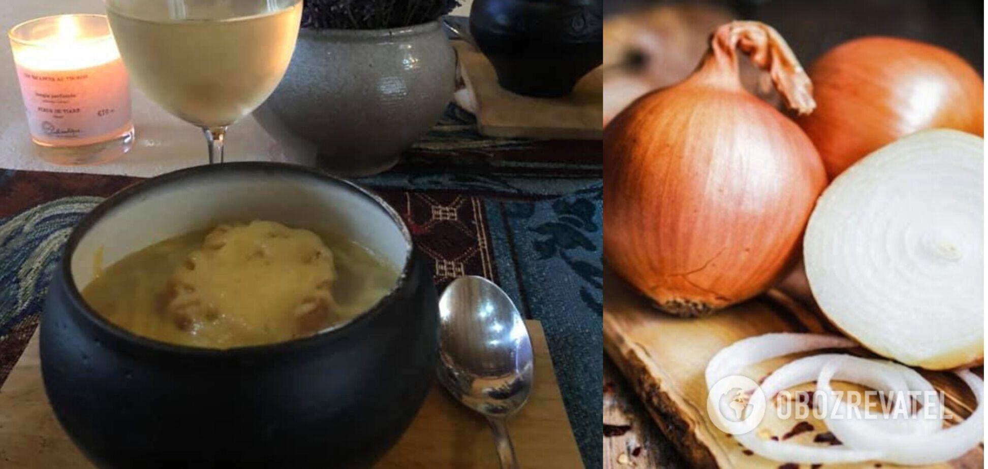 Французский луковый суп – дешевое изысканное блюдо