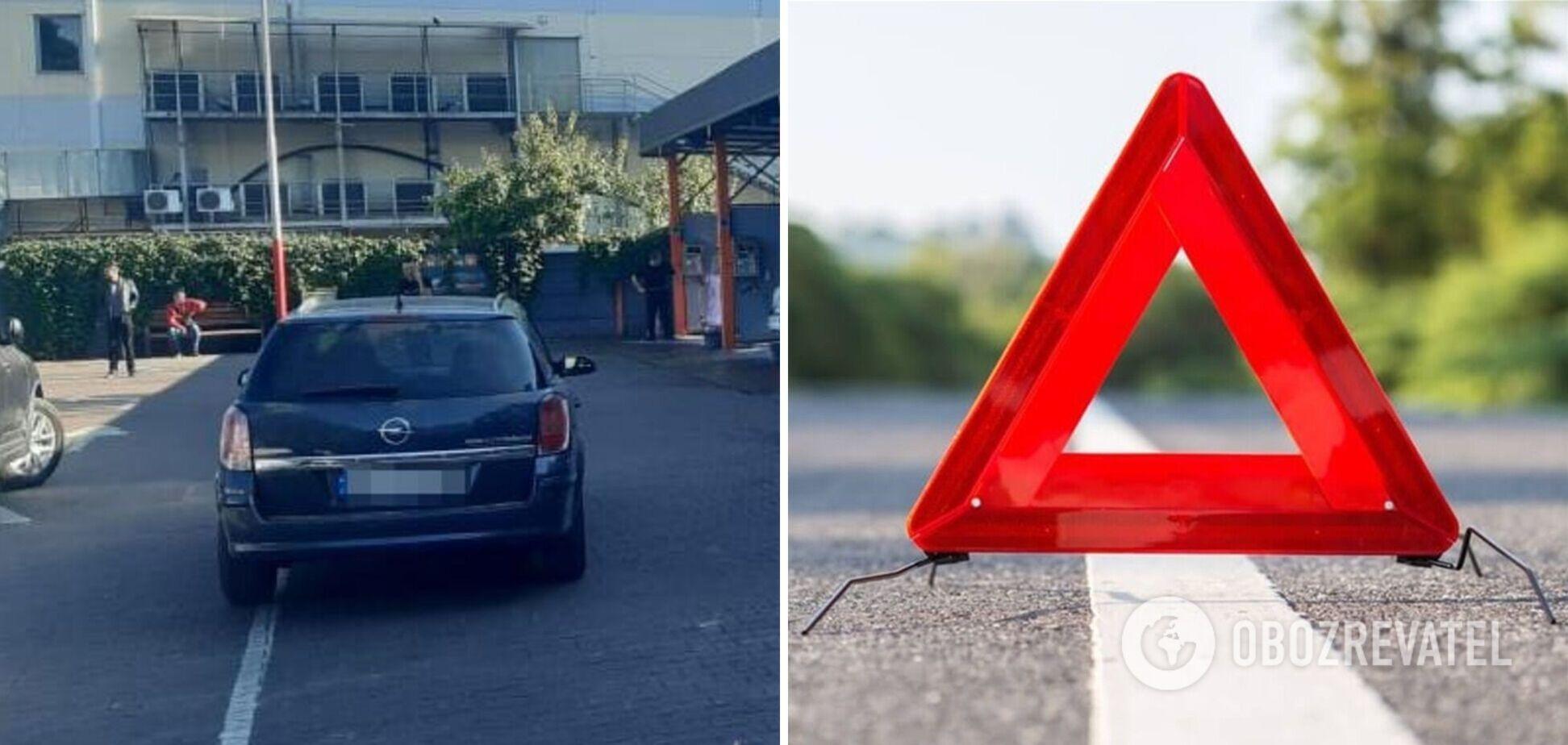 В Житомире авто сбило трехлетнего ребенка на парковке. Фото