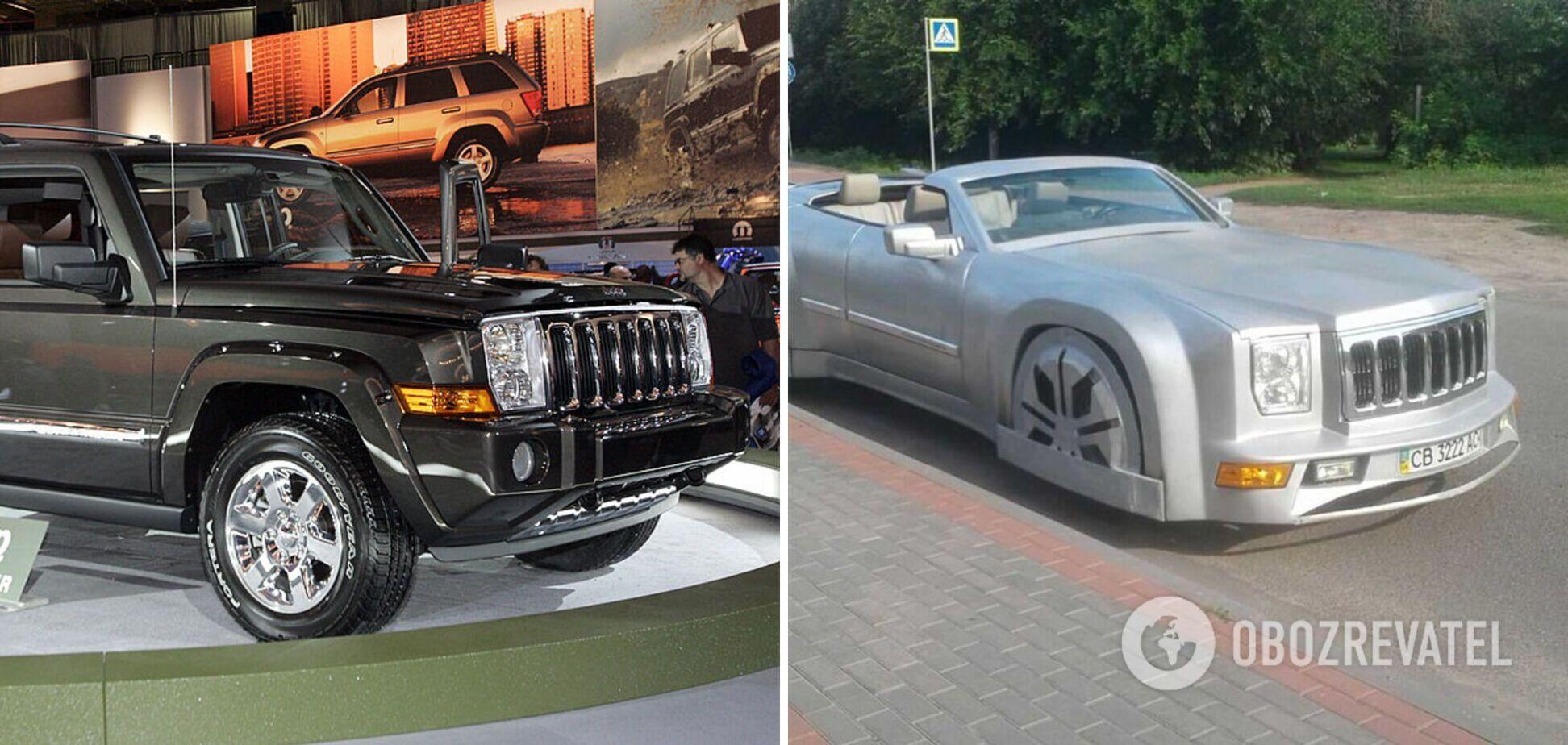 Украинец превратил Jeep Commander в кабриолет и выставил его на продажу. Фото