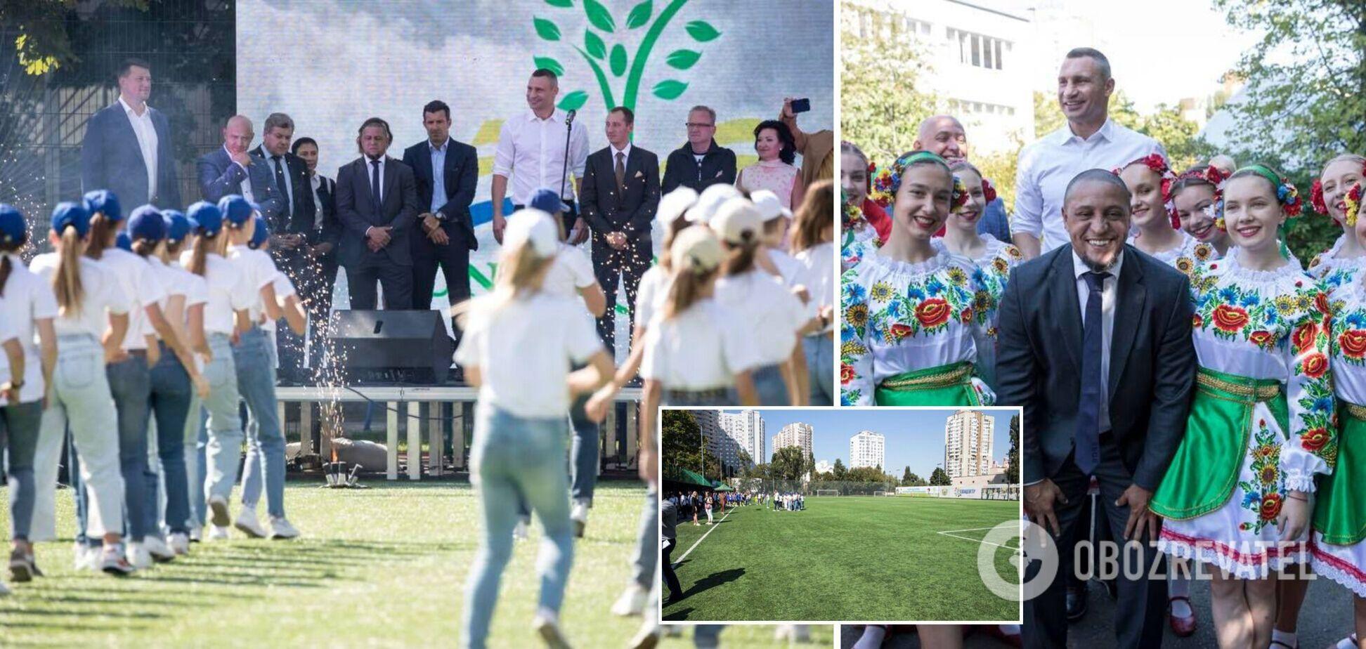 У Києві відкрили соціально-спортивну школу фонду 'Реал Мадрид'. Фото