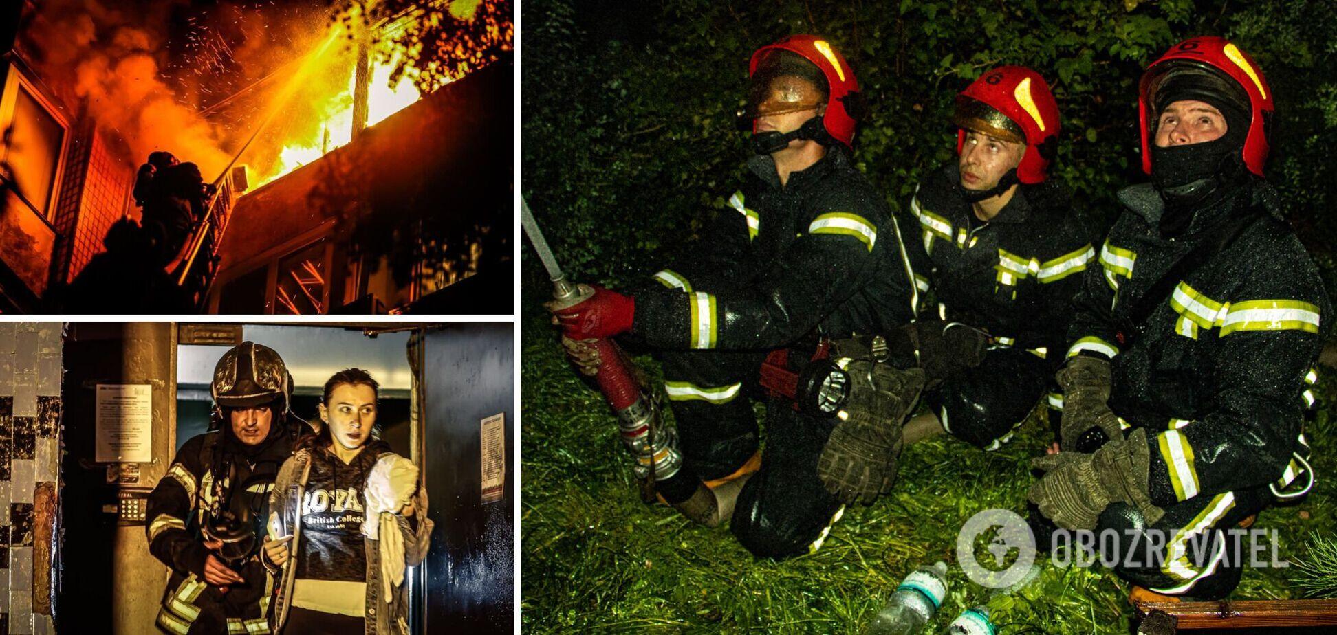 Полностью выгорела одна квартира и повреждены четыре балкона