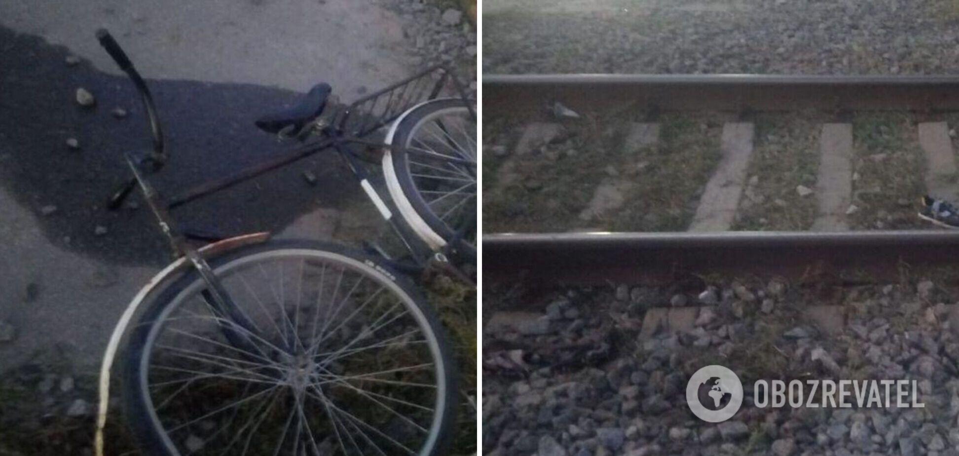 Поїзд збив підлітка на велосипеді