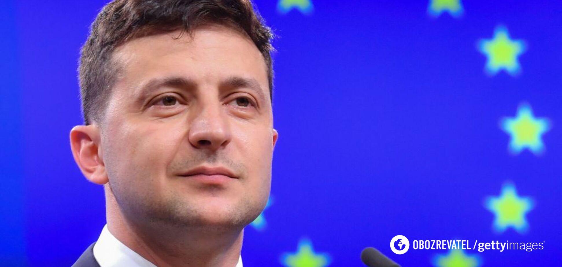 Зеленский о перспективах членства Украины в ЕС и НАТО: наша позиция достаточно проста – мы готовы