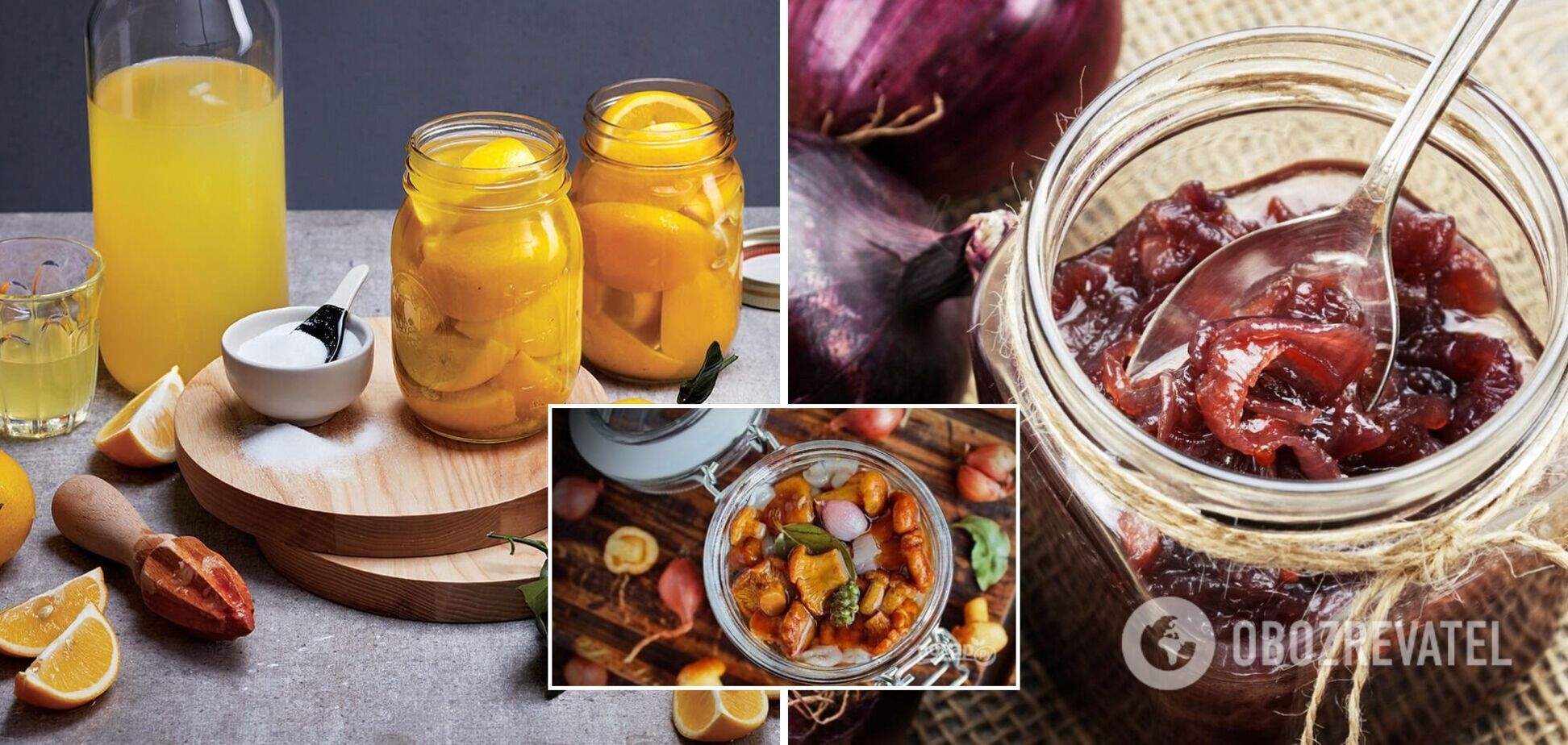 Солоні лимони та грибне варення – нетипова консервація на зиму