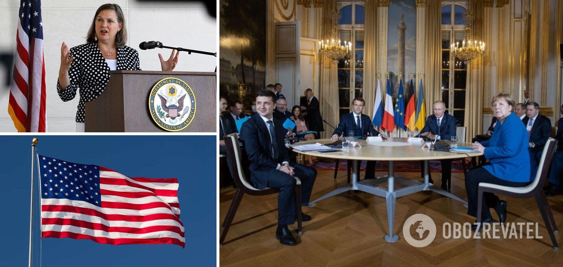 Участие США в переговорах по Донбассу