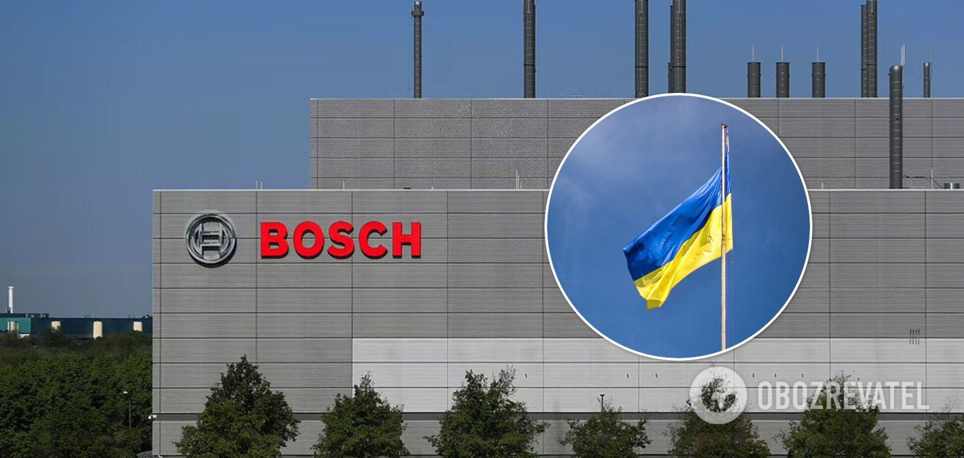 Компания Bosch планирует открыть производство в Украине