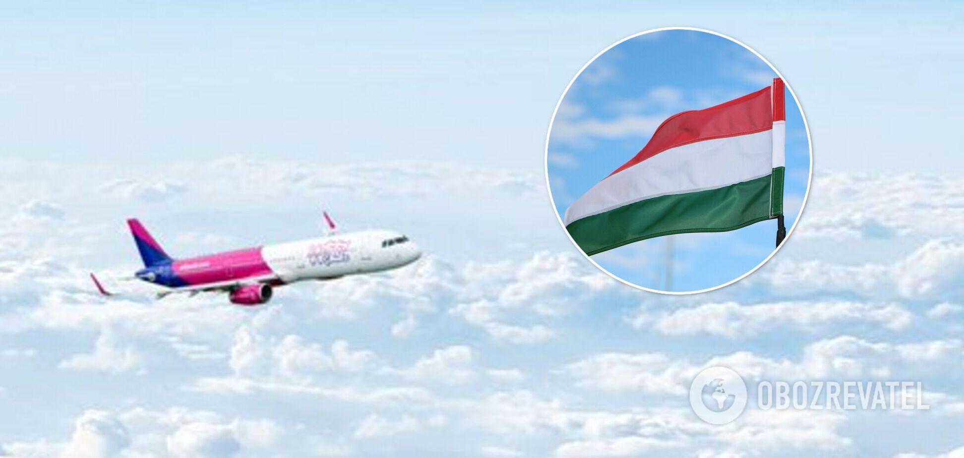Wizz Air запустить нові рейси з України в Угорщину
