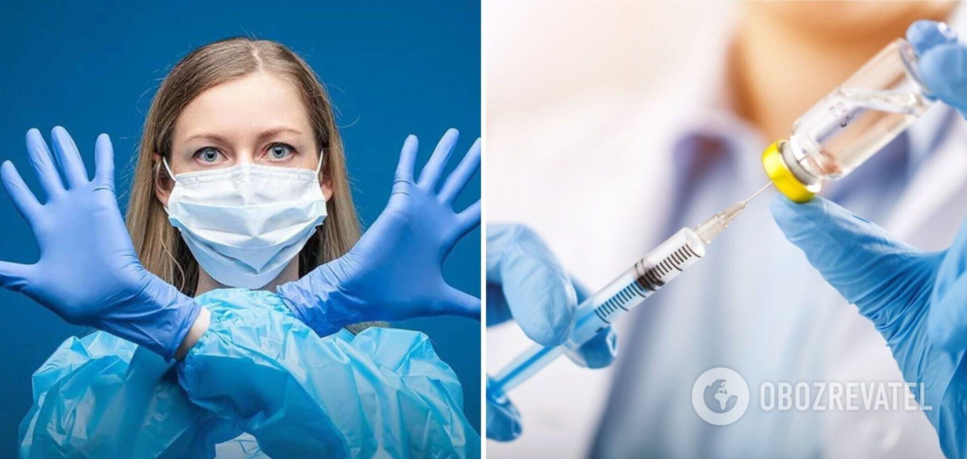Минздрав опровергает 5 мифов о вакцинации
