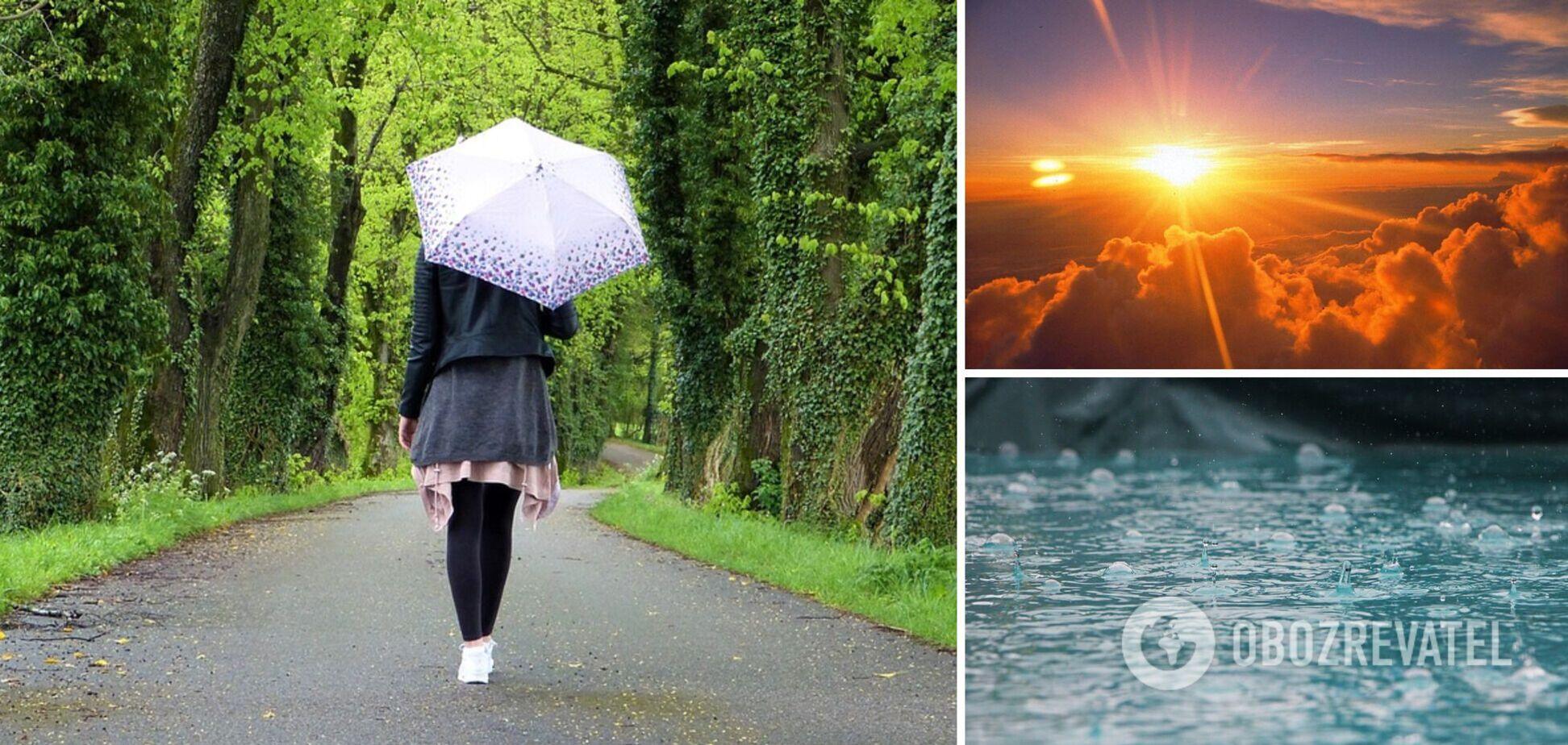 В Украине будет до +29, местами дожди: синоптик уточнила прогноз на воскресенье