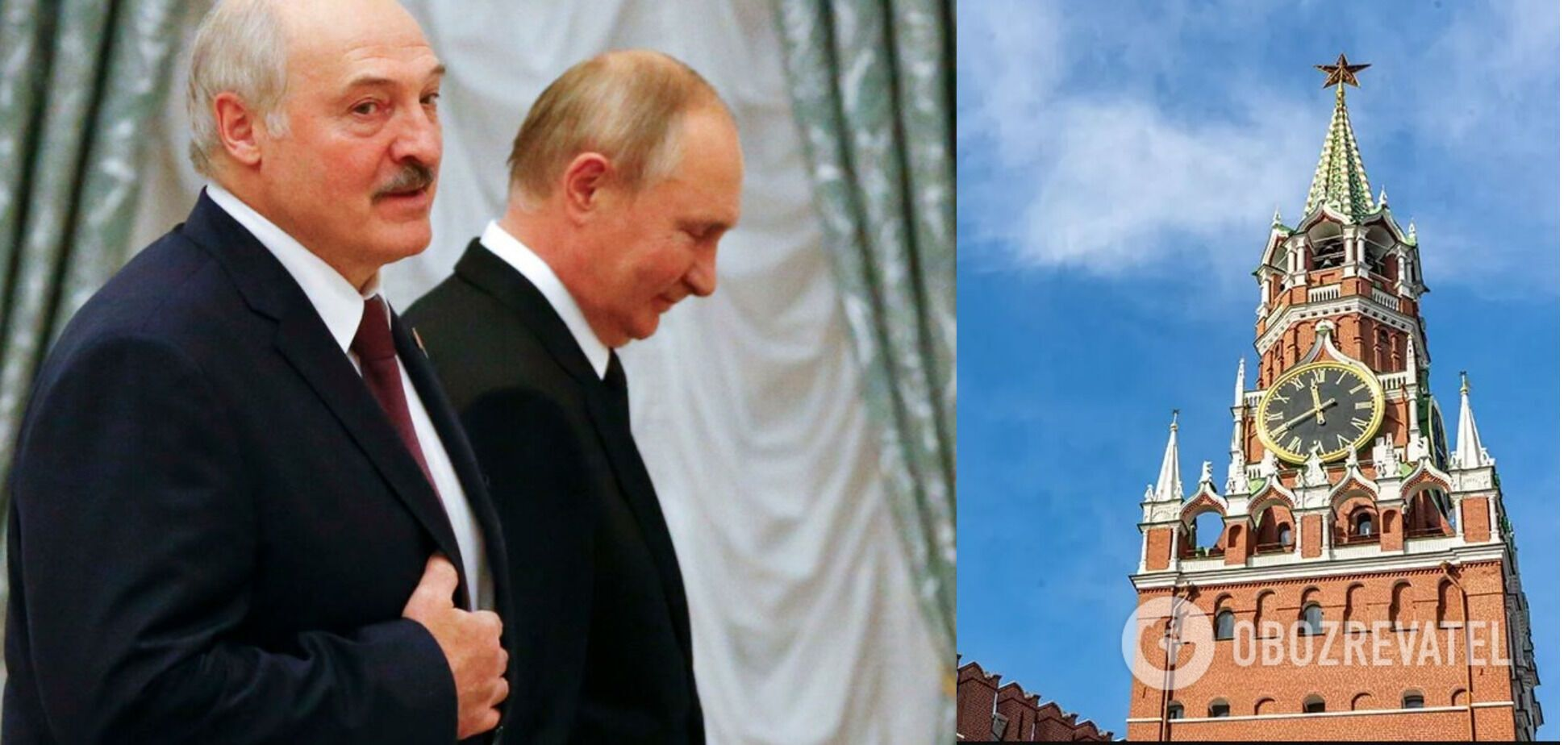 Лукашенко – гиря на ногах Путина: поглощение Беларуси ускорит крах режима в РФ