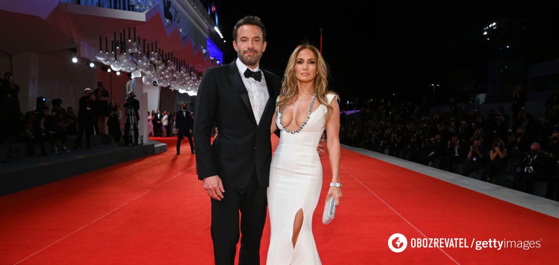 Дженнифер Лопес и Бен Аффлек впервые вышли на публику как пара. Фото