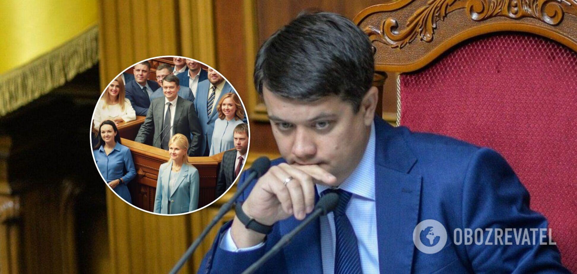 Разумков фотографировался с депутатами без масок, а через пару часов заявил о заражении COVID-19, – журналист