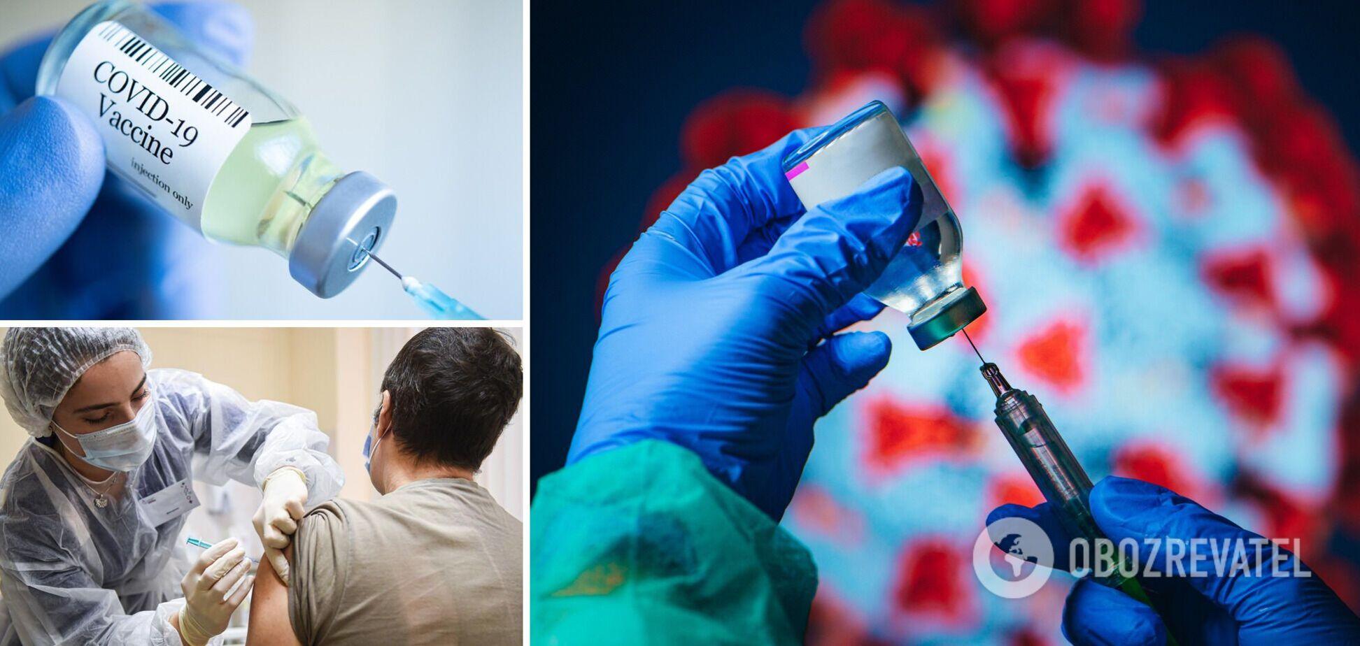 В Украине сделали рекордное количество прививок от коронавируса за сутки