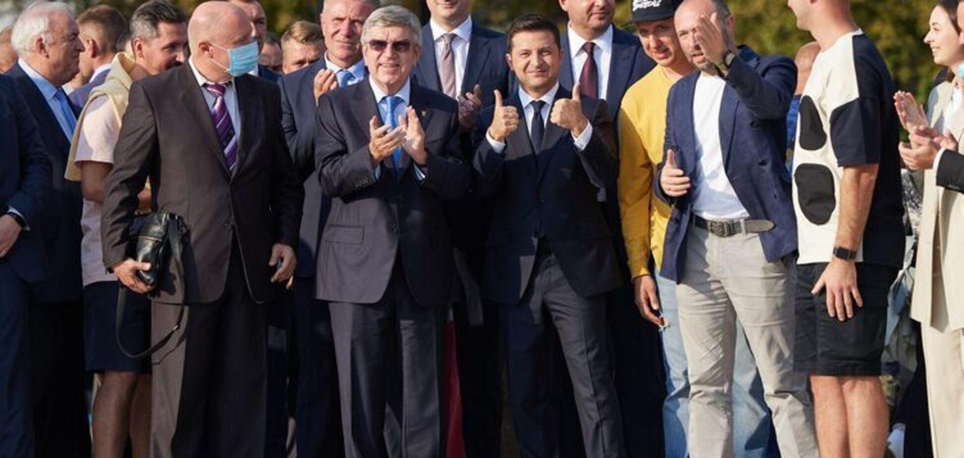 Зеленский обсудит с главой МОК проведение в Украине Олимпиады